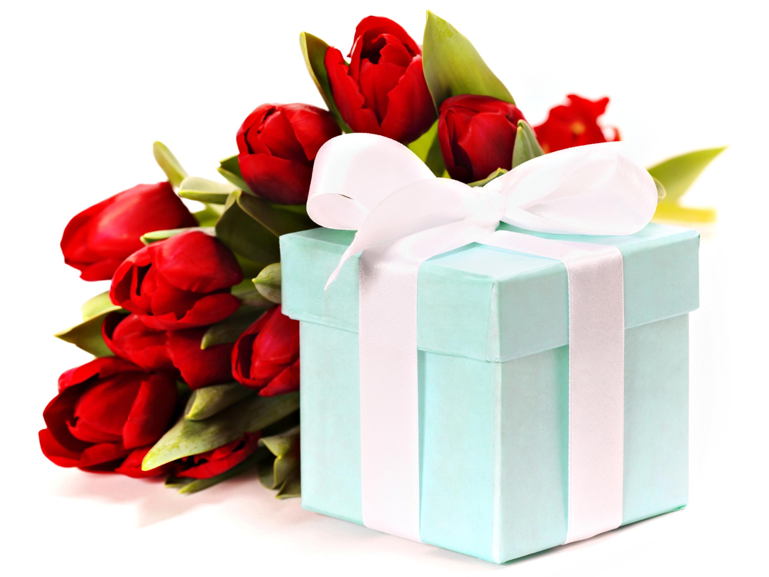 Подарки на день рождения в красивых картинках